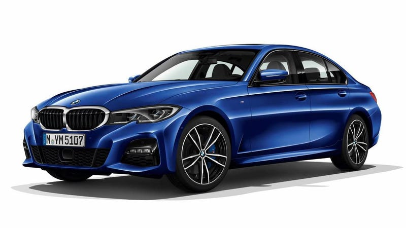 Illustration for article titled 2019 BMW 3 Series: This Is It Before You're Supposed To See It