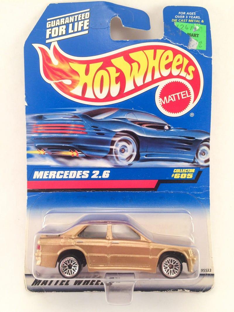 Hot wheels mercedes benz 2 6 for Hot wheels mercedes benz