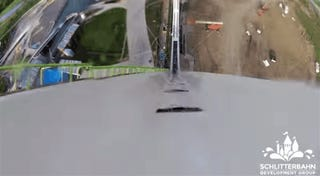 The World's Tallest Waterslide Is All Nope Nope Nope Too Fast