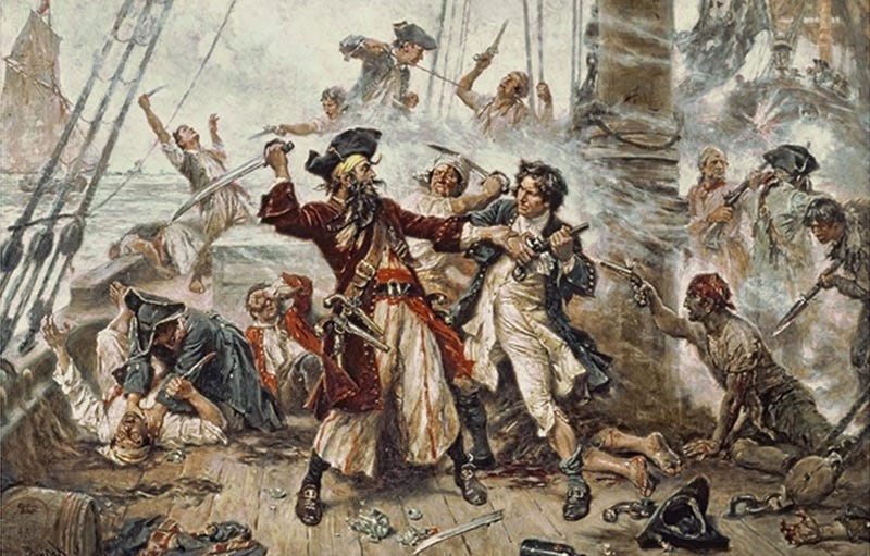 Illustration for article titled Pirates Are Not Thieves, They Are Fans