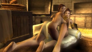 Illustration for article titled The Chances Of Sex Mini-Games In God Of War III