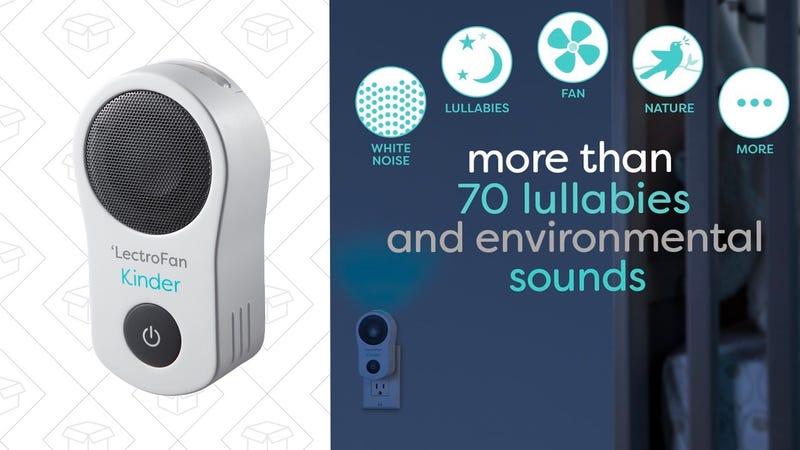 Máquina de sonido blanco LectroFan Kinder | $60 | Usa el cupón de la página y el código 25OffKinder