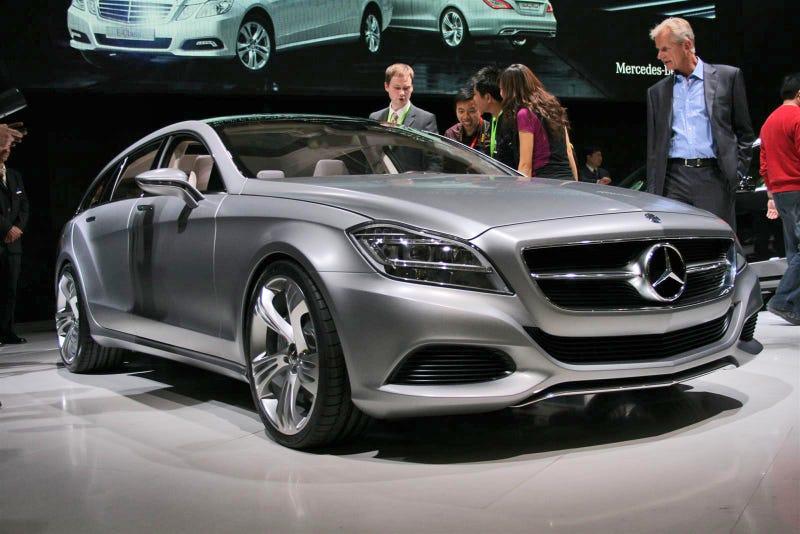 Illustration for article titled Mercedes Benz CLS Shooting Brake Concept