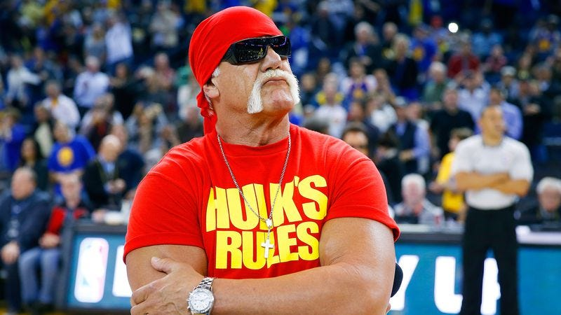 Hogan, presumably pondering the works of Ralph Ellison in 2014. (Photo: Getty Images)