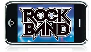 Illustration for article titled Rock Band iPhone Store Not Dead