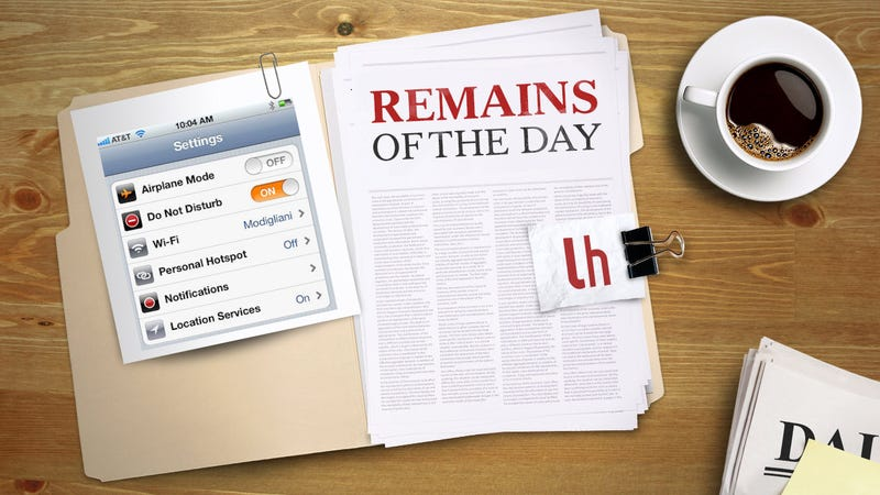 Illustration for article titled Remains of the Day: iOS 6's Do Not Disturb Feature Has a Slight Problem in 2013