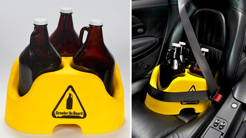 Illustration for article titled Growler Car Seat Protects Your Most Important Passengers