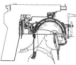 Illustration for article titled Head-Mounted Gun Patent Blows Minds, Literally