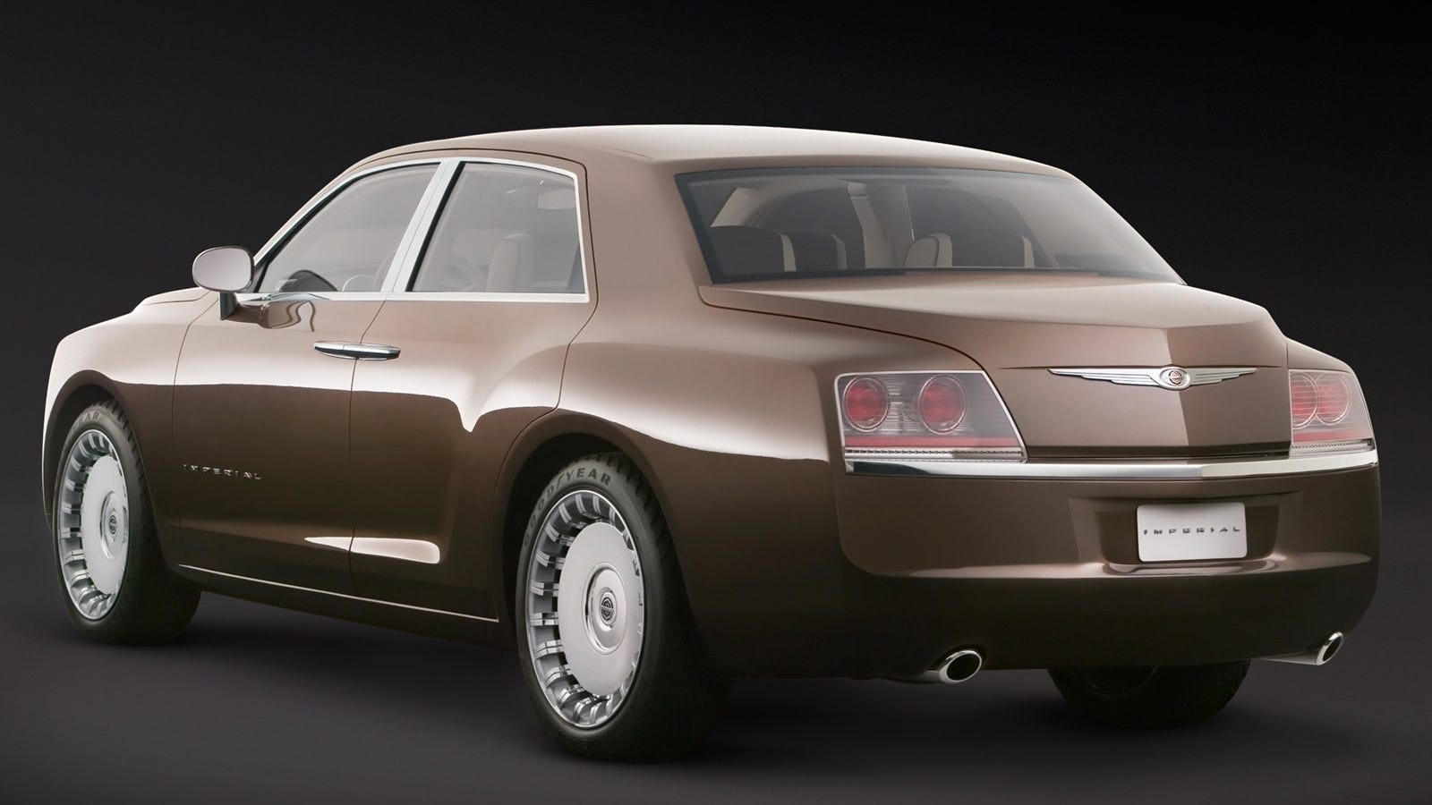 Chrysler Made A Bentley Derived Luxury Concept Before