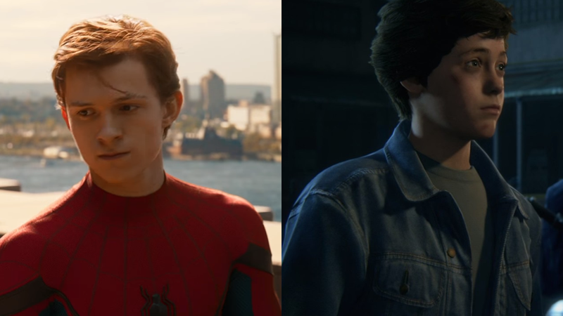 Image: Holland as he appears in Spider-Man: Homecoming, and Nathan Drake as a child in Uncharted 4. Credit: Sony Pictures/Sony Computer Entertainment