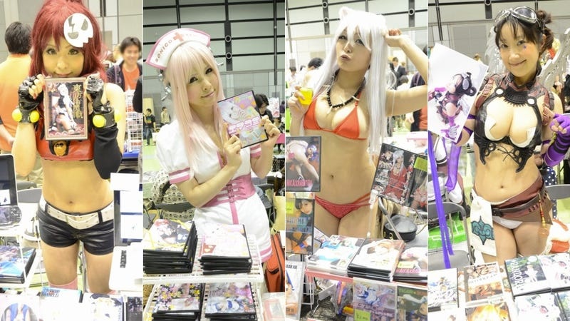 Illustration for article titled Buy Photos of Bikini Cosplayers from Cosplayers in Bikinis