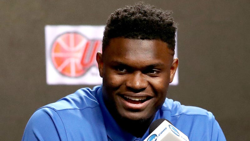 Illustration for article titled Zion Williamson Excited To Play For Team With Proven History Of Frittering Away Generational Talents