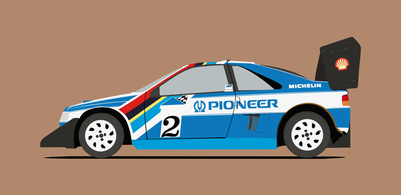 Illustration for article titled Peugeot 405 T16 Pikes Peak