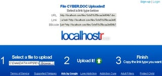 Illustration for article titled Host files in a flash with Localhostr