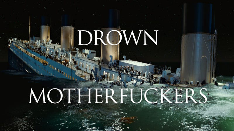 Illustration for article titled I Re-Watched Titanic So You Don't Have To. You're Welcome.