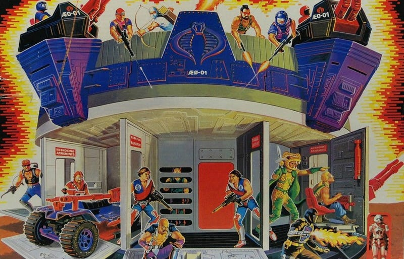 Illustration for article titled The 14 Greatest Action Figure Playsets of All Time