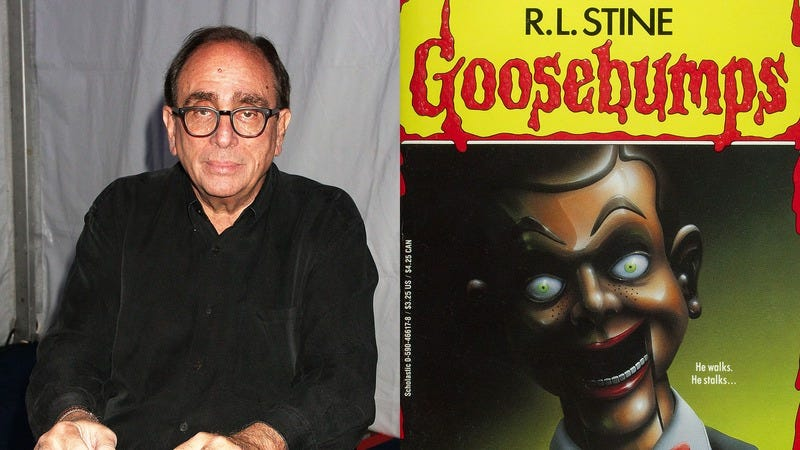How Many Of These Things Have You Yelled While Having Mind-Blowing Sex With R.L. Stine?