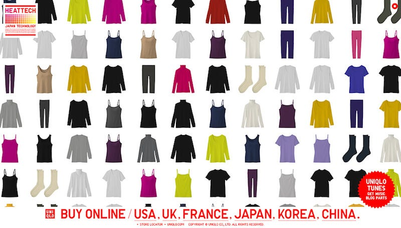 Uniqlo HEATTECH for Men and Women