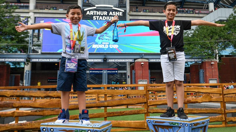 The Fortnite World Cup Was A Kids' Paradise