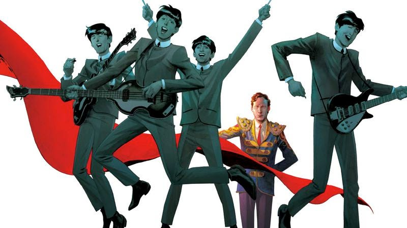 """Illustration for article titled """"Fifth Beatle"""" Brian Epstein is getting his own biopic"""