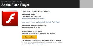 Illustration for article titled Adobe Flash Player 11 and AIR 3 Are Now Available and Bursting With Performance Enhancements