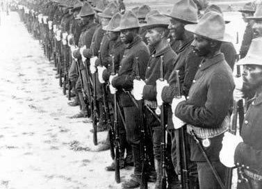 Illustration for article titled Remembering the Buffalo Soldiers