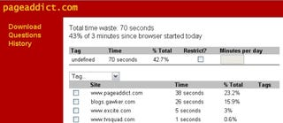 Illustration for article titled Download of the Day: PageAddict (Firefox)