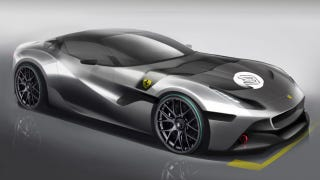 Illustration for article titled This Is Ferrari's Beautiful One-Off SP Arya