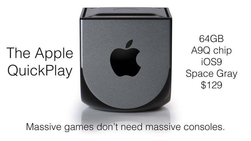 Illustration for article titled Should Apple make a games console?