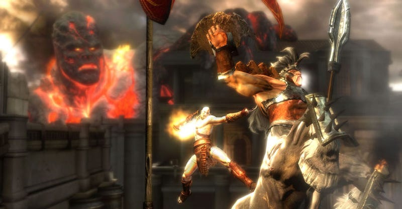 Illustration for article titled God of War III Impressions: Like A Threesome For Your Eyes