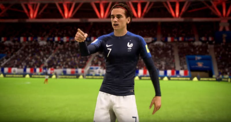 Illustration for article titled EA's FIFA 18 World Cup Patch Is A Surprise