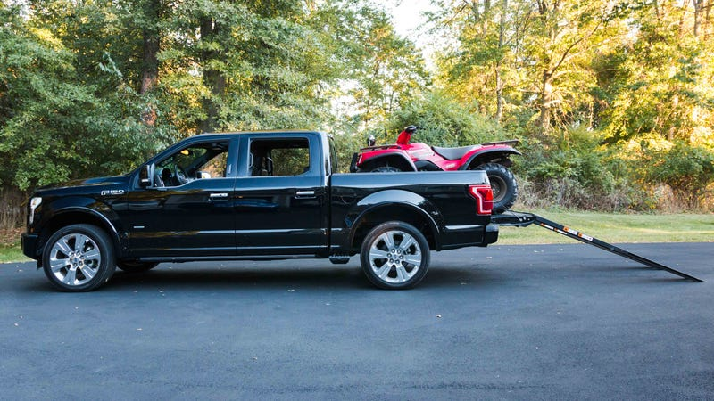 Illustration for article titled This Expensive Option On The 2016 Ford F-150 Is Actually Super Neat