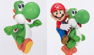 Illustration for article titled Look At This Yoshi Figure