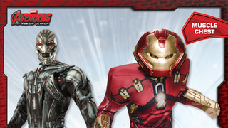 Illustration for article titled These Age Of Ultron Halloween Costumes Are Unintentionally Petrifying
