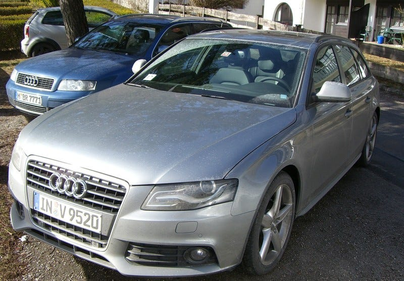 2009 Audi S4 Avant Spotted