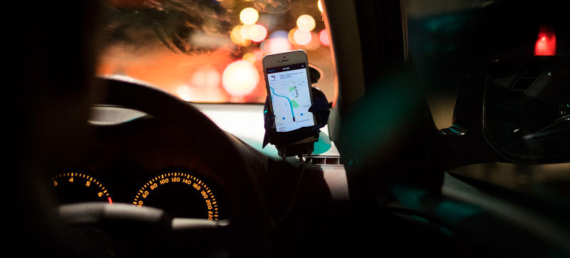 Illustration for article titled Uber's Using Smartphone Sensors to Check Its Drivers Don't Speed