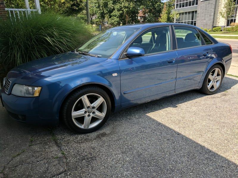 Audi A4 1.8T quattro :: 1 photo and 66 specs :: autoviva.com