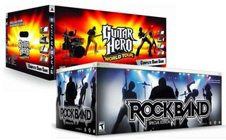 Illustration for article titled Guitar Hero, Rock Band Go Cheap At Gamestop