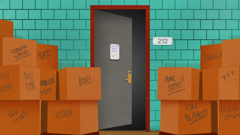 Illustration for article titled How to Make the Most of Your New Dorm Room's Tiny Space