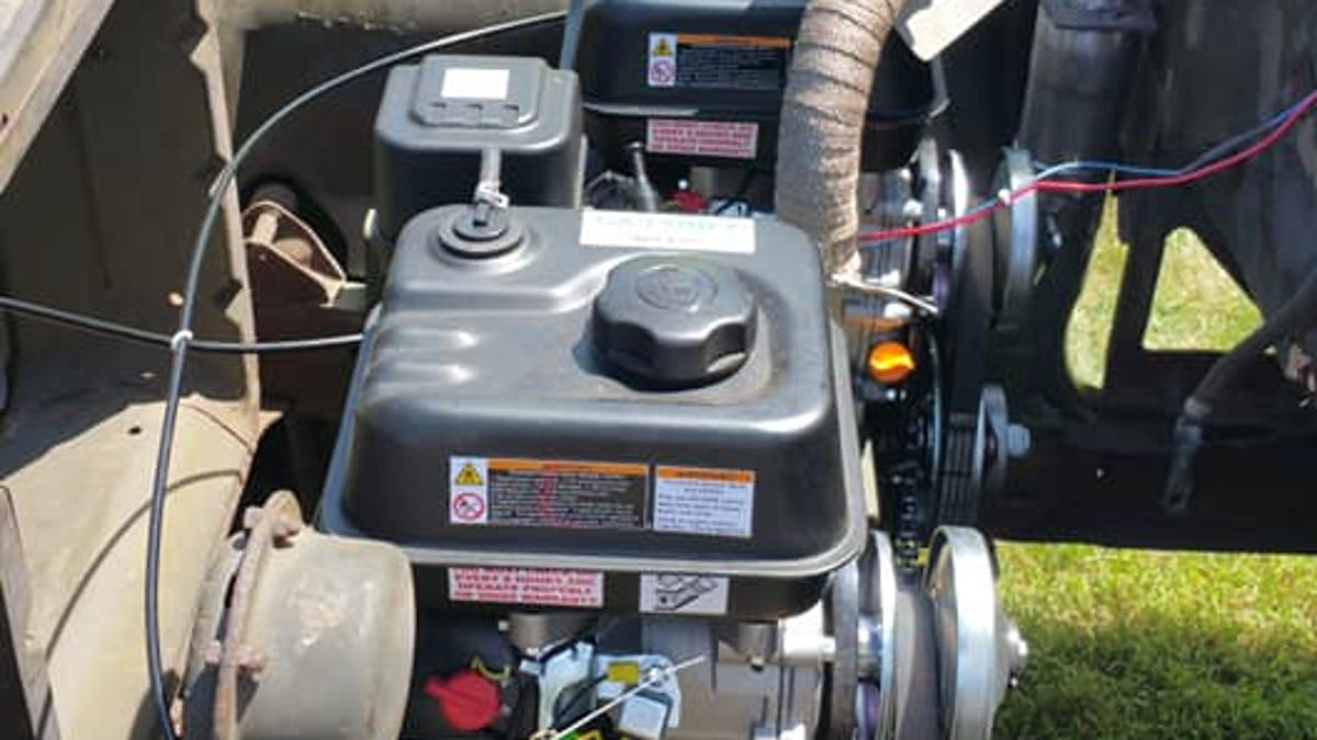 This Wrenching Genius Installed Lawnmower Engines Into His Military