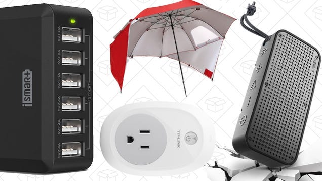 Today's Best Deals: Chargers Galore, Rugged Anker Speaker, Sport-Brella