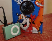 Illustration for article titled Turn a Hallmark Music Card into a Cereal Box Speaker