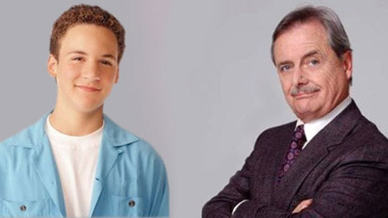 Illustration for article titled Cory Matthews, Mr. Feeny Share Joyous Moment Following Phillies World Series Victory