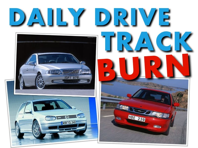 Illustration for article titled Daily Drive, Track, Burn: Volvo, Saab, Volkswagen