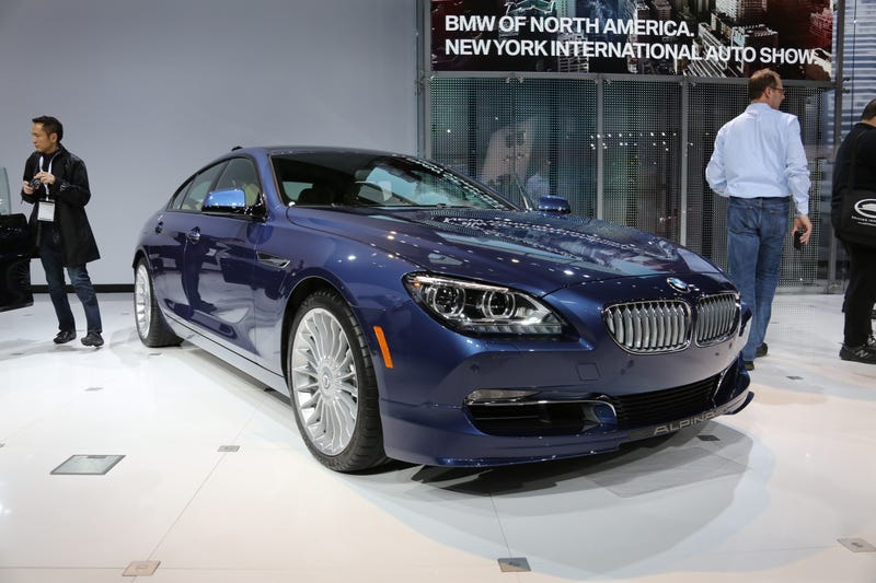 Illustration for article titled The 540 HP BMW Alpina xDrive B6 Gran Coupe Is The Baddest Gran Coupe