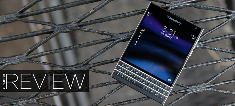 Illustration for article titled BlackBerry Passport Review: When the Best You've Got Isn't Good Enough