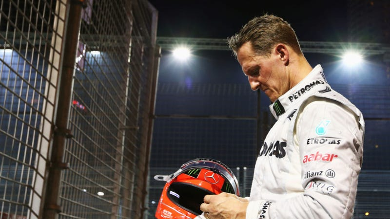 Illustration for article titled Michael Schumacher Still In Critical Condition After Brain Surgery