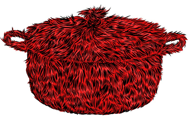 Illustration for article titled Help! My Le Creuset Has Grown Fur!