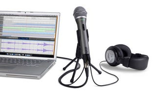 Illustration for article titled Samson Q2U Mic Is a Cheap USB/XLR Solution For Home Foley Action