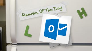 Illustration for article titled Remains of the Day: Outlook.com's Security Will Rival Gmail